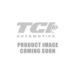 TCI Black Die Cast Alum Aluminum Flame Powerglide Pan
